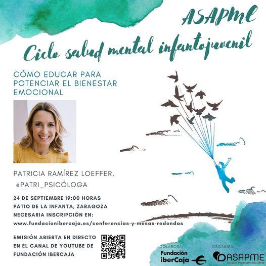 "Asapme promueve el ciclo de conferencias ""Salud Mental Infantojuvenil"""