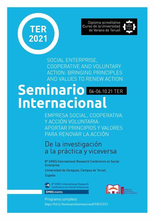 La Coordinadora participa en el Seminario Internacional Empresa Social, Cooperativa y Acción Voluntaria