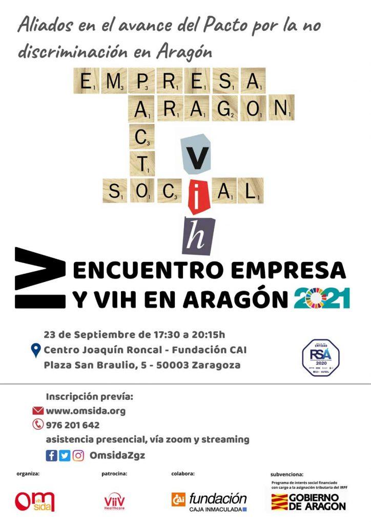 OMSIDA impulsa el IV Encuentro Empresa y VIH en Aragón
