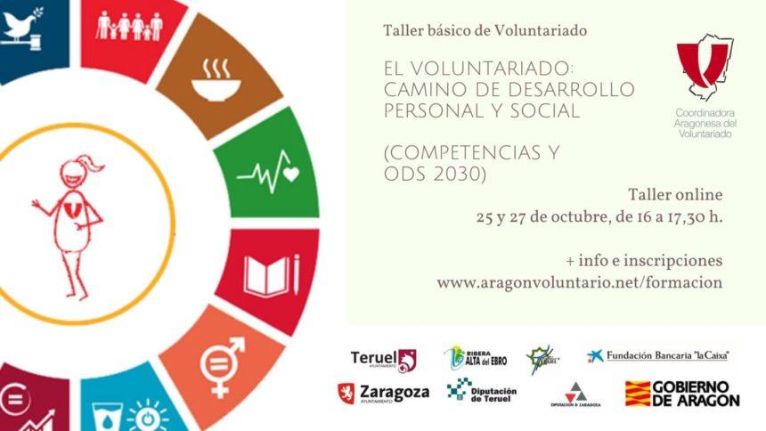 Nuevas formaciones Online de la Coordinadora Aragonesa de Voluntariado