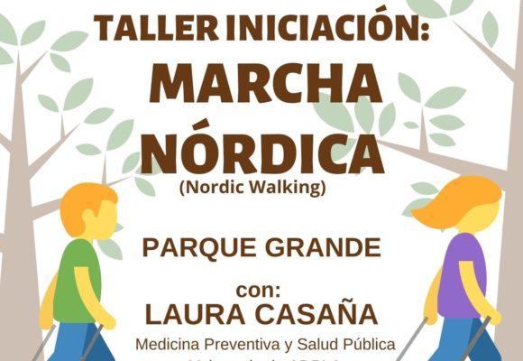 ADPLA organiza un taller de iniciación a la marcha nórdica
