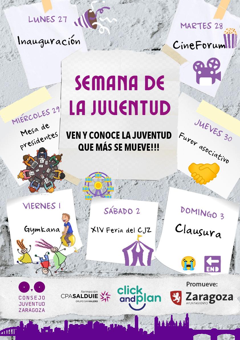 El CJZ celebra la Semana de la Juventud con distintas actividades