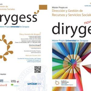Arranca la III edición del Dirygess (Máster Propio en Dirección y Gestión de Recursos y Servicios Sociales)
