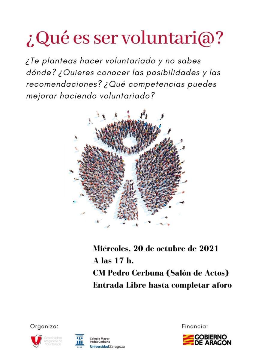 El miércoles estaremos en el CMU Pedro Cerbuna
