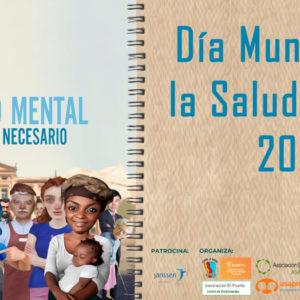Zaragoza se ilumina de naranja por la salud mental