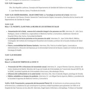 """XI Jornada Omsida """"Nuevas tecnologías y salud: Hacía el futuro de la asistencia sociosanitaria"""""""