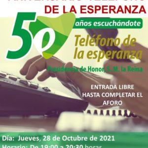El Teléfono de la Esperanza en Aragón está de aniversario