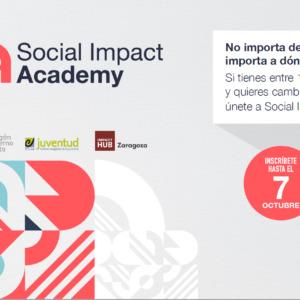 Si tienes entre 18 y 30 años apúntate a la Social Impact Academy